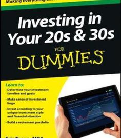 Investing In Your 20s & 30s For Dummies By Eric Tyson PDF