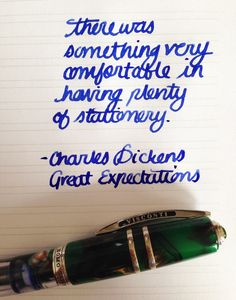 Handwritten Post. Comfort in Stationery