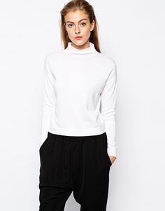 Mango Compact Knit High Neck Knitted Top