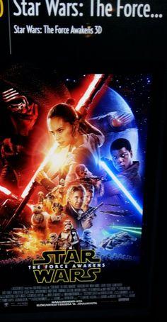 KULTTUURI  AJANKOHATISTA ELOKUVAT  2016.....Star Wars: The Force Awakens 3D Star Wars: The Force Awakens 3D (2015) Lajityyppi: Toiminta, seikkailu, fantasia, sci-fi, 3D Levittäjä: Walt Disney Studios Motion Pictures AB Ohjaaja: J.J. Abra... Katsoin &Tykkäsin Ensi-iltaviikolla. SUOSITTELEN LÄMPIMÄSTI. KATSO MinunBLOGI HXSTYLE.wordpress... Nähdään HYMY