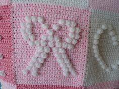 Ravelry: debbieredman's Pink bobbly squares 3