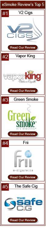 Ecig reviews - This is our list for the top e-cigarette brands. Check out e-smoke-reviews.com for more info