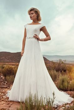 "Brautkleid Denver aus der Marylise Brautmoden Kollektion 2015 :: bridal dress from the 2015 Marylise collection ""Les nouvelles femmes"" by Misolas"