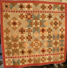 Eventide quilt. - sweet, soothing colors