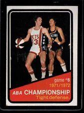 1972 Topps #246 ABA Playoffs EX+ M737726