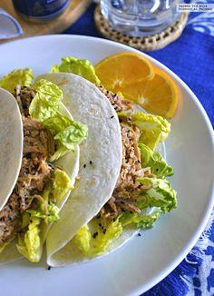 Paletilla de cerdo asada con salsa de naranja y mango. Receta con y sin Crock Pot | Directo Al Paladar | Bloglovin'