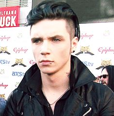 Andy GIF, The Black Veil Brides