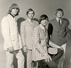 60's psychedelic garage band The Moving Sidewalks, with Billy Gibbons (second from left)