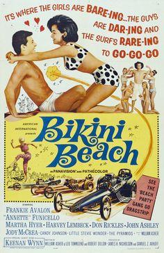 Bikini Beach (1964) starring Frankie Avalon & Annette Funicello