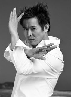 Jet Li: Chinese film actor, film producer, martial artist, and retired Wushu champion who was born in Beijing.