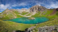 Ice Lake Basin at Dawn, San Juan Mountains, Colorado