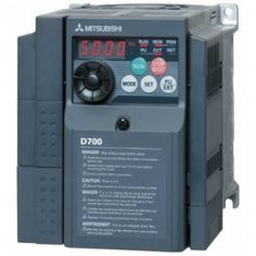 Buy Mitsubishi AC Drive 0.5HP 240V FR-D720S-025-EC at our Online Shopping & Business Portal...