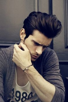 Trendy Medium Men Hairstyle