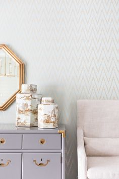 Embrace wallpaper: http://www.stylemepretty.com/living/2014/11/04/15-great-to-know-decorating-secrets/