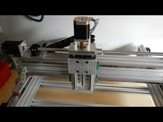 Tabletop Extrusion CNC Router Build - Part 2 - YouTube