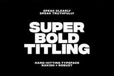 Integral CF bold sans serif typeface