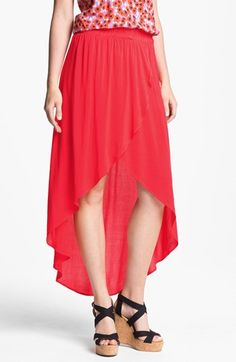 All about this: Splendid High/Low Wrap Skirt