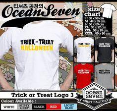 Kaos Tema Halloween | Trick Or Treat 2