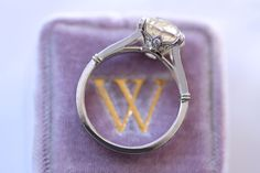 Erika Winters Bridal Jewelry Helena Split Shank Engagement Ring... Love the gallery!