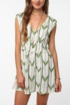 surf electric by bethany mayer ikat dress