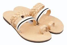 Isapera sandals : Kalafatis in Stripes