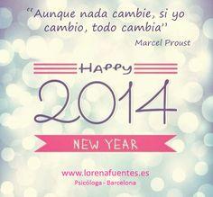 #añonuevo #felizaño #2014 #cambio #metas #objetivos #objetivo #psicologa #psicologabarcelona