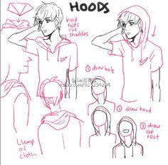 """""""How to draw Hood"""" Drawing Tips ✒✏ (Official Board) By: XxMiarartxX"""