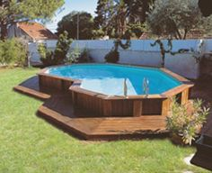 cheap above ground pool landscaping | Explore more about design