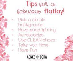 Agnes and Dora Clothing create a flatlay