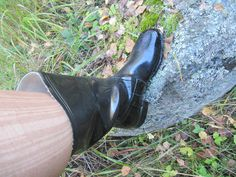 Wellies Rain Boots, Black Rubber, Rubber Rain Boots, Clogs, Boots, Welly Boots, Clog Sandals