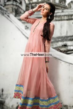 http://theheer.com/store/products.php?product=AK7502-Salmon-Pink-Crinkle-Chiffon-Raw-Silk-Anarkali-Frock-