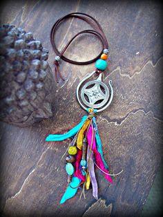 Boho Jewelry  Boho Necklace  Boho Hippie by HandcraftedYoga, $42.00
