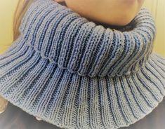 Helppo tuubihuivi Knitting, Kids, Fashion, Long Scarf, Young Children, Moda, Boys, Tricot, Fashion Styles