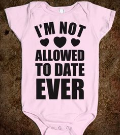 Not Allowed To Date Ever - 24/7 Mom - Skreened T-shirts, Organic Shirts, Hoodies, Kids Tees, Baby One-Pieces and Tote Bags