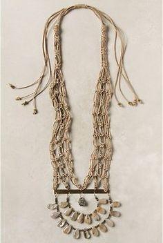 Craft bib necklace from anthropologie