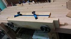 Moxon Vise with Hold Downs