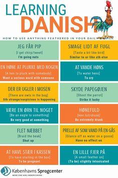 Danish Language Learning, Danish Words, Chinese English, Study Tips, Good To Know, Funny Quotes, Reading, Uganda, Languages