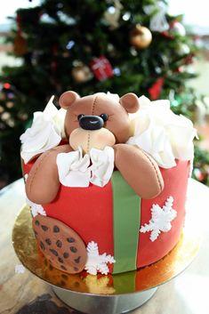 Resultado de imagen de tarta navidad