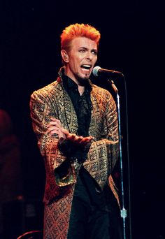 Thursday, Jan. 9, 1997. David Bowie's 50th birthday, Madison Square Garden, New York.