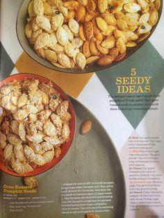 Pumpkin seed recipes