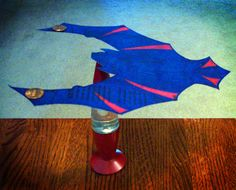 Bat Wing & Eagle Wing Patterns Webelos Scientist #7 Center of Gravity to keep your balance