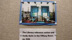 Tiffany Room, Study Desk, Exhibit, Frame, Home Decor, Desk For Study, Picture Frame, Studio Desk, Decoration Home