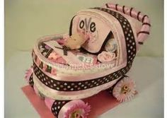 how to make diaper stroller for baby shower - Yahoo Image Search Results