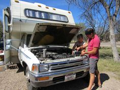 Don't leave home without them. Long trips bring bring weak spots to breaking points that shorter drives never show. Be prepared for the most likely failure items in your RV.