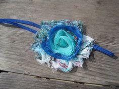 Peacock Headband Baby Headband Baby Girl Headband by BirdyBows, $5.95