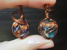 Wire Wrapped Marble ∙ How To by Ninja Potato on Cut Out + Keep