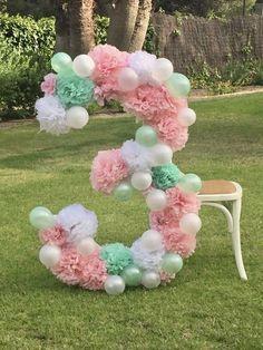 La semana pasada nos pidieron decorar una fiesta de cumpleaños para una niña que cumplía 3 añitos en una casa preciosa de la Costa Brava Catalana. Uno de los en