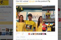 Primož Roglič dobil dirko po Algarveju!  primoz roglic LottoNLJumbo Cycling