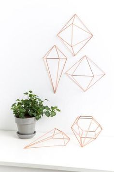 Prisma Copper Wall Decor