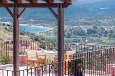 View from Astrostudio Apartments in Exopolis near Georgioupolis Chania Crete